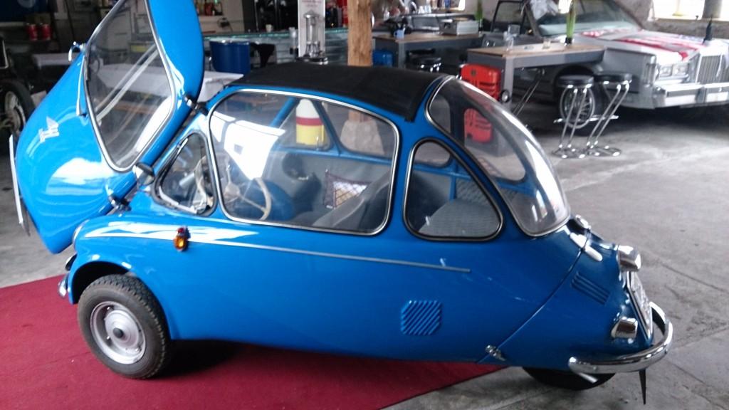 Heinkel Kabinenroller 18500€
